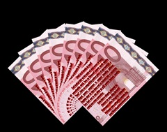 10 Belgian Euro Notes -  Version by Factual Solutions