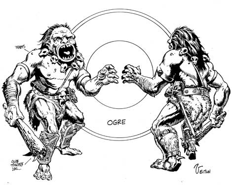 Stormreach Succotash - Blog Archive - Monster Minute: Ogres