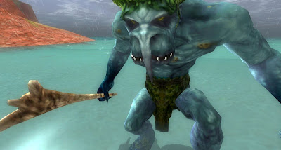 sea cave troll