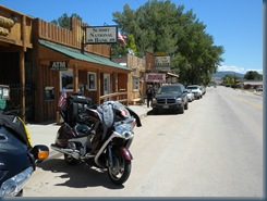 Town of Ten Sleep, WY:  Lunch at the Saloon