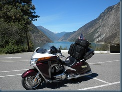Seton Lake near Lillooet, BC