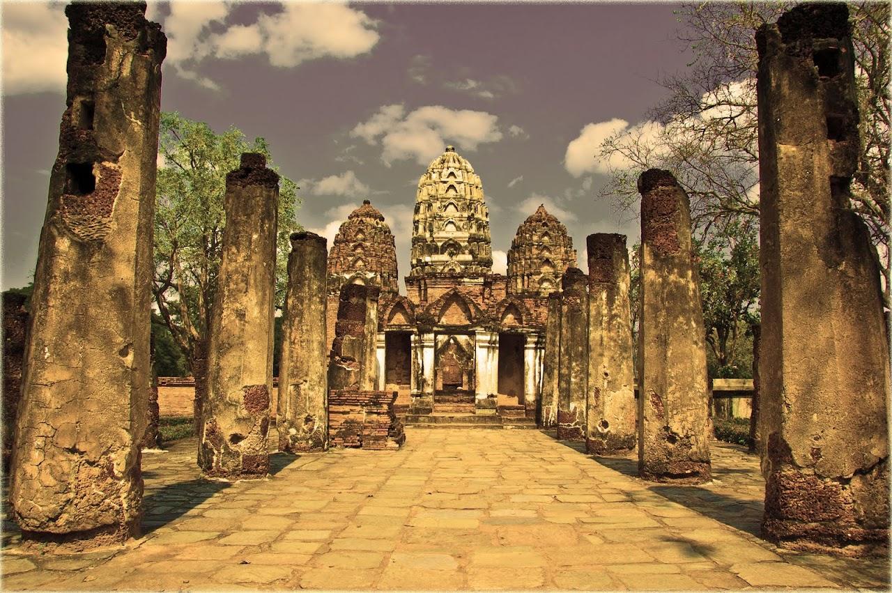 Wat Si Siwai at Sukhothai