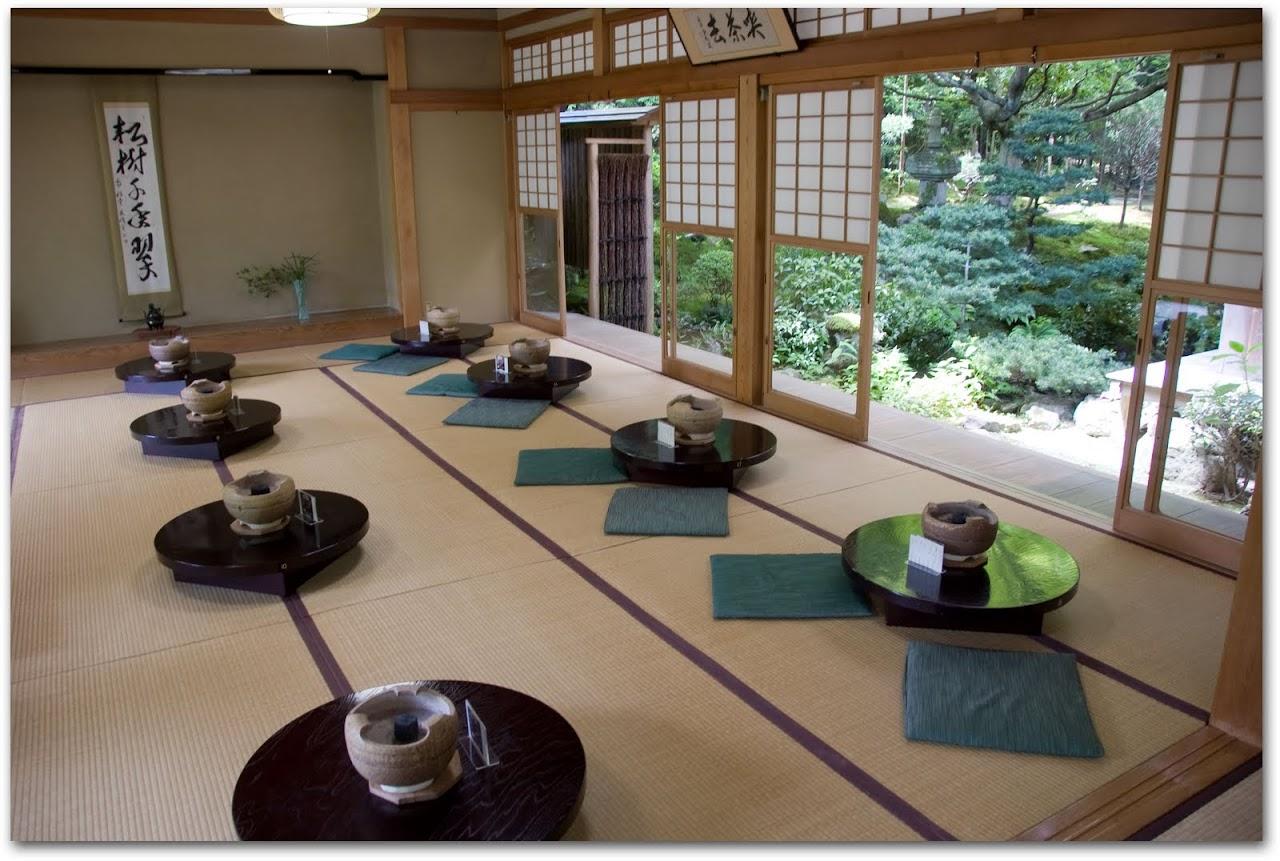 Ryoanji temple dining