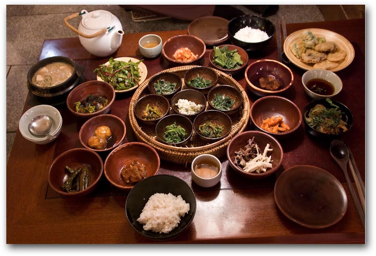 Sanchon dinner