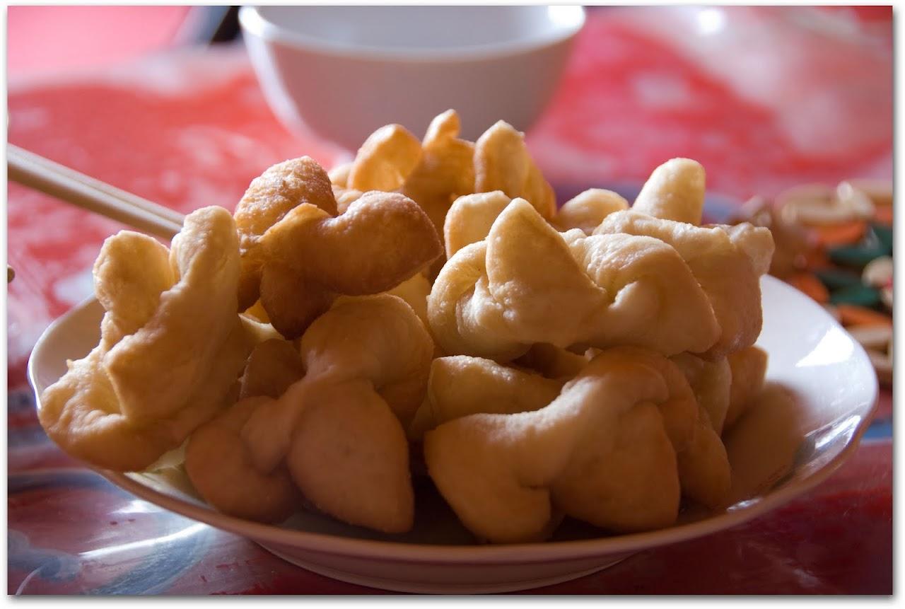Mongolian doughnuts