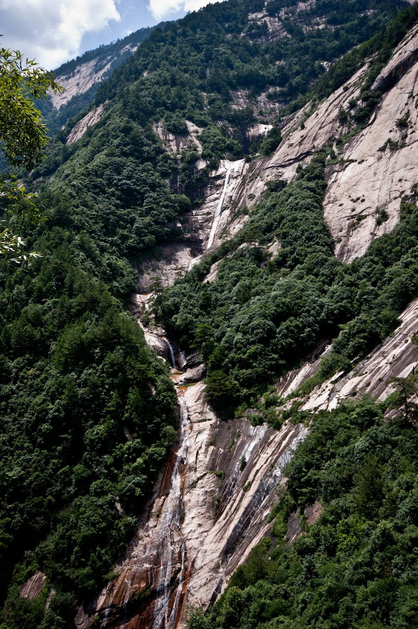 Huang Shan waterfall