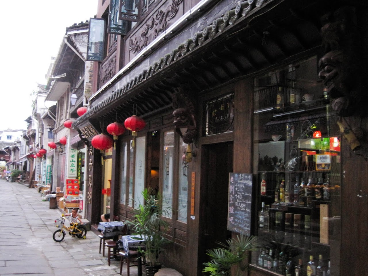 Ancient Street in Tunxi