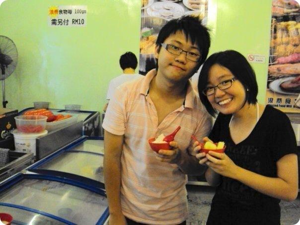 6M class gathering 2009-Yee Yew and Ke Lin