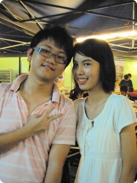 6M class gathering 2009-Yee Yew and Kim