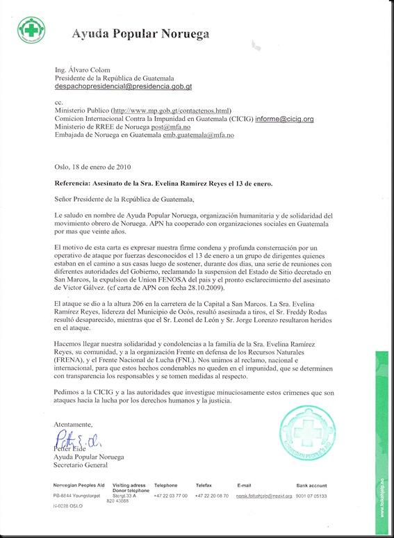 Carta de APN1