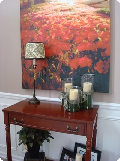 Foyer Table Craigslist : Before and after party craigslist love from thrifty decor