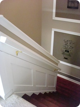 It Makes The Whole Staircase Look Finished Off: