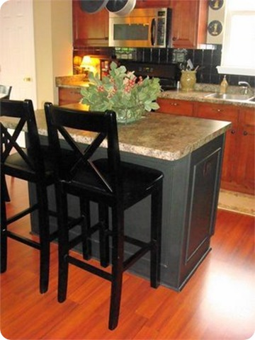 Kitchen Island Makeover Ideas a beautiful kitchen island (finally!) from thrifty decor chick