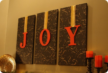 JOY letters