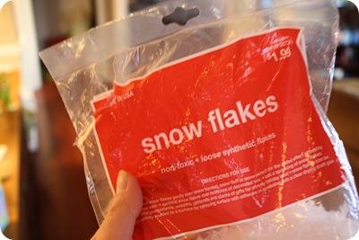 faux snow