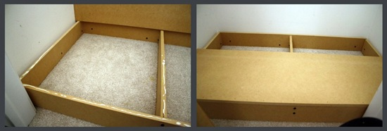 how to build a bench in closet