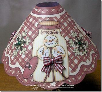 Snowman Lampshade 2