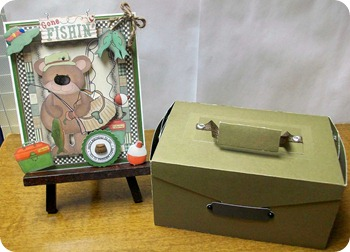 Fishing Bear and Tackle Box2
