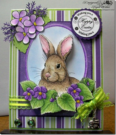 Bunny Violets