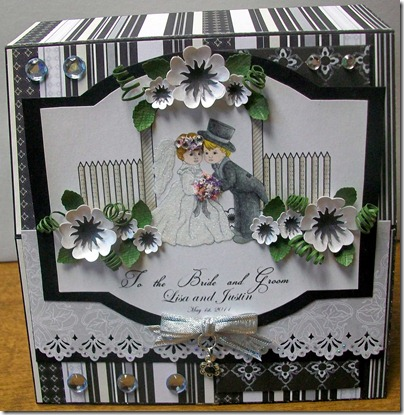 Wedding Cake Easel Card