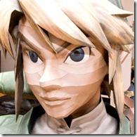 link-face-papercraft