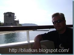 στο κρουαζερόπλοιο με θέα τον πύργο της Ουρανούπολης