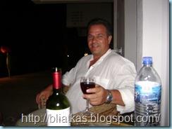 Κρασάκι στη βεράντα