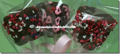 Chocolate Marshmallow Valentine Pop01