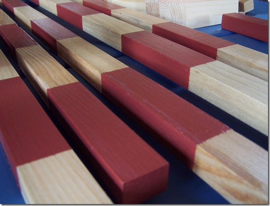 how to make montessori number rods