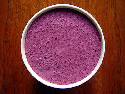 blueberry yogurt brown sugar