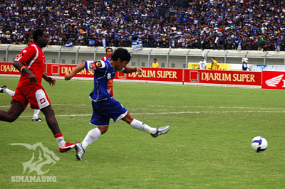Eka Ramdani Persib vs PSPS 2009/2010