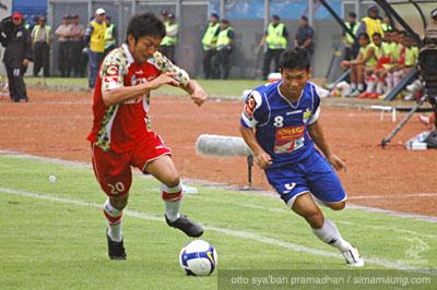 Eka Ramdani Persib vs Bontang FC 2009/2010