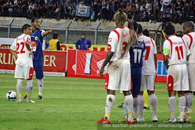 Hilton Persib vs Persema 2009/2010
