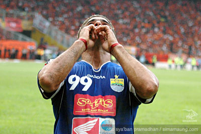 Christian Gonzales Persib Bandung