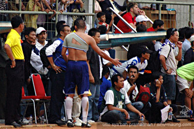 Nova Arianto Pelita Jaya vs Persib 2009/2010