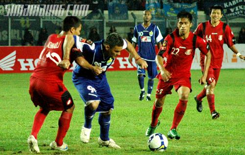 Gonzalez Persib vs Pelita jaya 2009