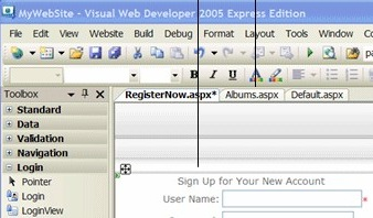 Visual Web Developer 2008 Express
