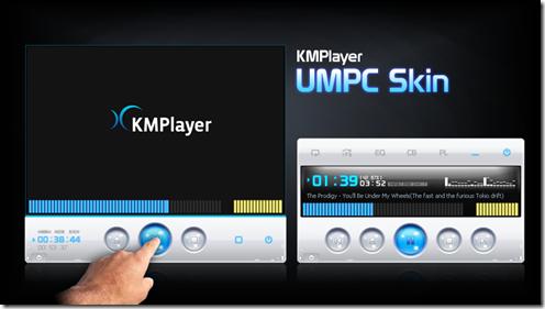 KMPlayer UMPC Skin