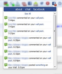 Facebook Quick Notifications