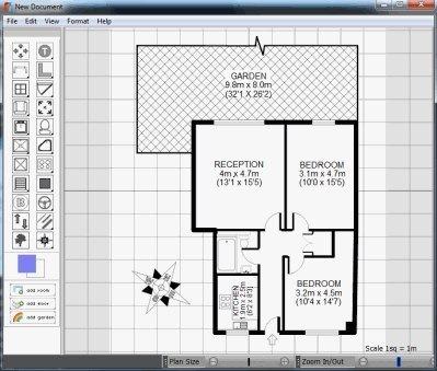 freeware floor plan design software