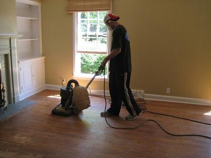 Living Floor Sanding