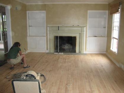 Living Floor Sanding 2