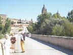 El Pont romà sobre el riu Tormes