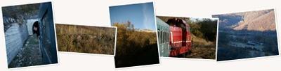 View Turist pe calea ferată Anina-Oraviţa
