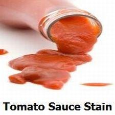 Tomato Sauce Stain