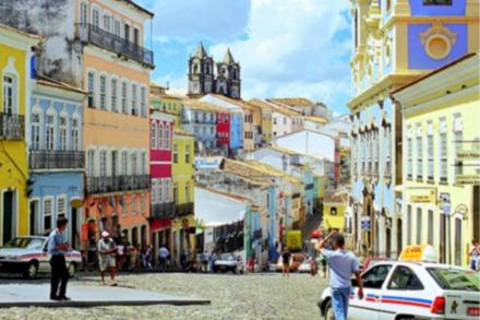 Pelourinho, Centro histórico de Salvador Bahia, Brasil