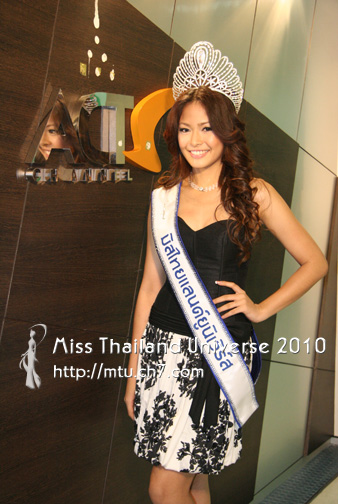 WORLD IT NEWS: Miss Thailand Universe 2010 Fonthip ...