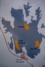 mapa lajedo