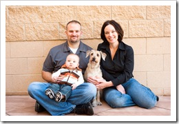 Bev's photo - family, 12-13-09