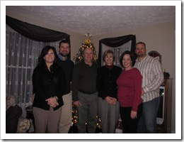 Holly, Jeff, Bob, Dana, Me and Jer